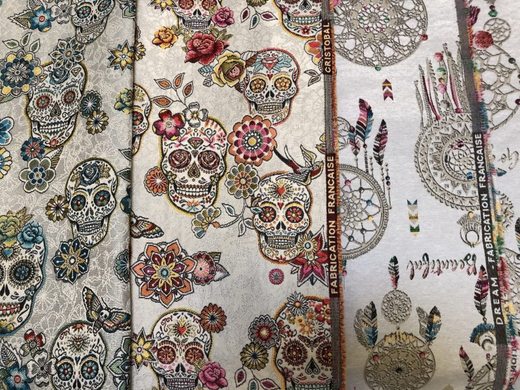 Cotton fabric made in France